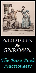 Addison & Sarova, the Rare Book Auctioneers