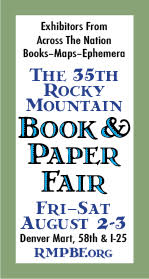 35th Annual Rocky Mountain Book & Paper Show