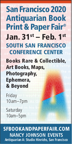 San Francisco 2020 Antiquarian Book Print & Paper Fair