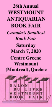 Westmount Antiquarian Book Fair